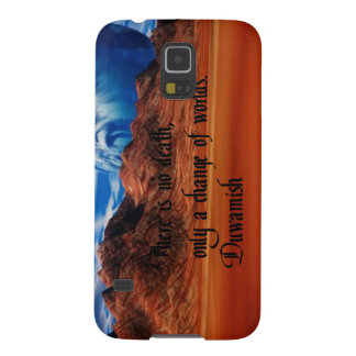 Native American proverb Galaxy S5 Cover