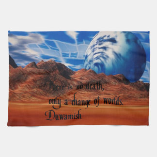 Native American proverb Hand Towel
