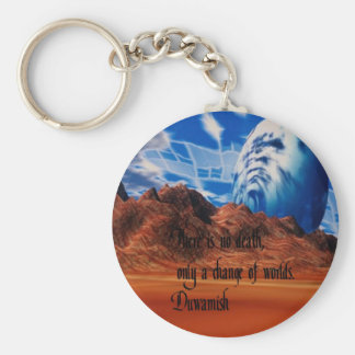 Native American proverb Keychain