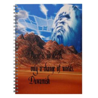 Native American proverb Notebook