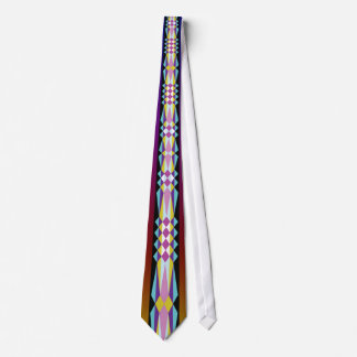 Native American Ribbon design Neck Tie
