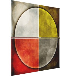 Native American Sacred Hoop Canvas Print