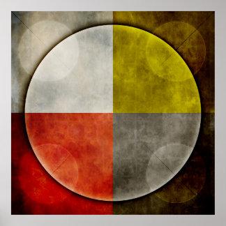 Native American Sacred Hoop Poster