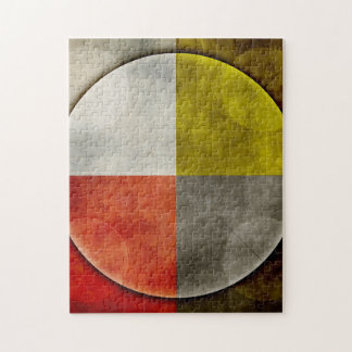 Native American Sacred Hoop Jigsaw Puzzle