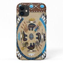"""Native American Sandpainting"" Western IPhone 5 Ca iPhone 11 Case"