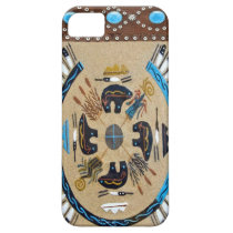 """Native American Sandpainting"" Western IPhone 5 Ca iPhone SE/5/5s Case"