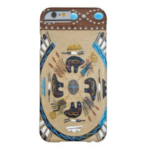 """Native American Sandpainting"" Western iPhone 6 ca Barely There iPhone 6 Case"