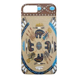 """Native American Sandpainting"" Western iPhone 7 ca iPhone 8/7 Case"