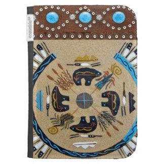 """Native American Sandpainting"" Western Kindle Case"