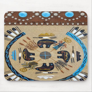 "Native American ""Sandpainting"" Western Mousepad"