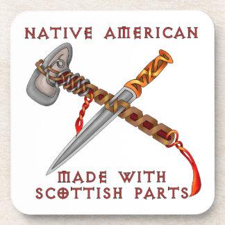 Native American/Scots Coaster