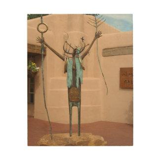 Native American Sculpture by Bill Worrell Wood Wall Decor