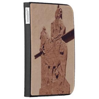 Native American Sculpture Kindle Case