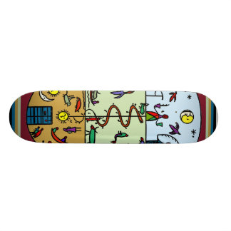 Native American Shaman Skateboard