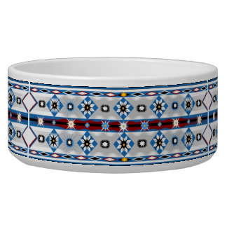 Native American Sioux Pet Bowl