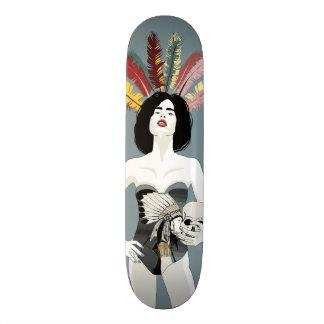 Native American Skateboard