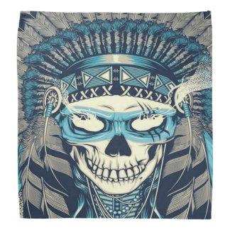 Native American Skull Bandana