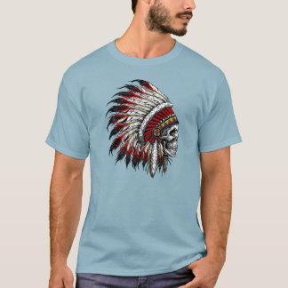 Native American Skull Chief T-shirt