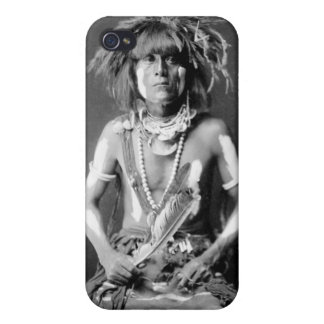Native American Snake Priest, 1900 iPhone 4 Cover
