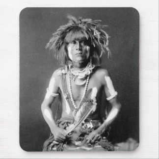 Native American Snake Priest, 1900 Mouse Pad
