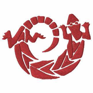 Native American Spinning Lizard Design 3 Polo Shirt