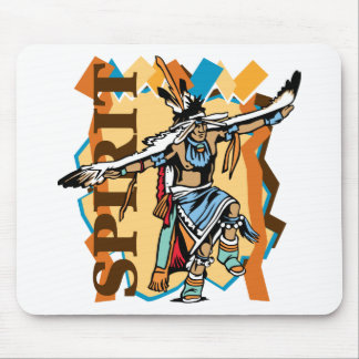 Native American Spirit Dance Mouse Pad