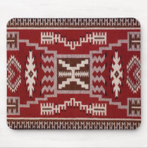 Native American Storm Pattern Weaving Mouse Pad