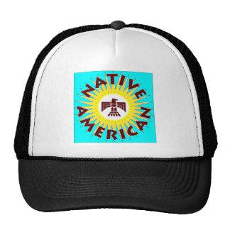 Native American Sun Trucker Hat