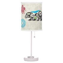 Native American Symbols and Wisdom - Bear Table Lamp