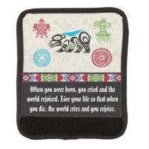 Native American Symbols and Wisdom - Bear Handle Wrap