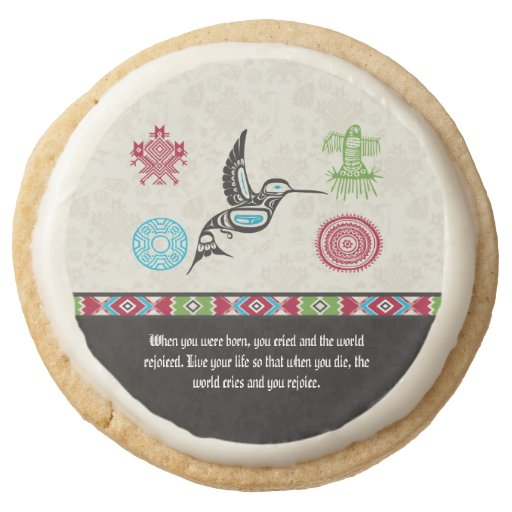 Native American Symbols and Wisdom - Hummingbird Round ...
