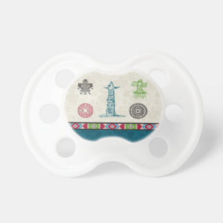 Native American Symbols and Wisdom - Totem Pole Pacifiers