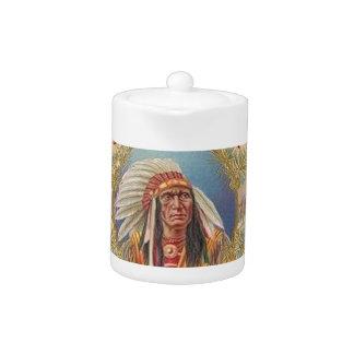 Native American Teapot