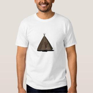 native american teepee t-shirt