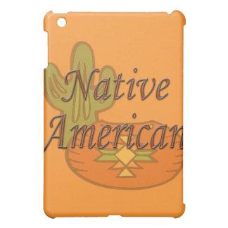 Native American  terra cotta iPad Mini Cover