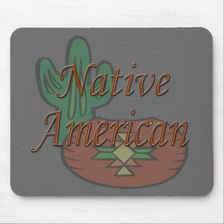 Native American  terra cotta Mouse Pad