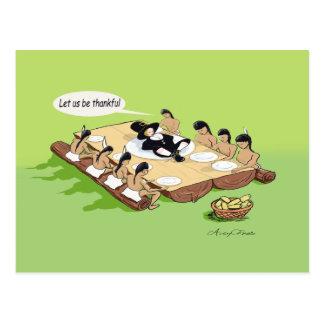 Native American Thanksgiving Greeting Card