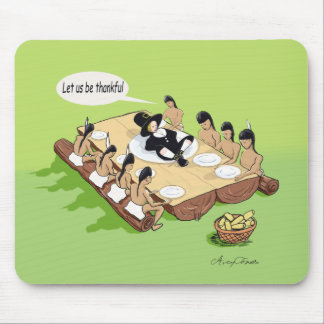 Native American Thanksgiving Mouse Pad