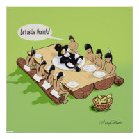 Native American Thanksgiving print