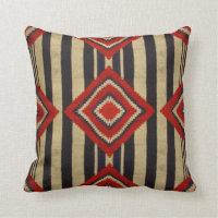 Native American - Throw Pillow