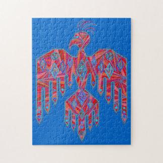 Native American Thunderbird Jigsaw Puzzle Game