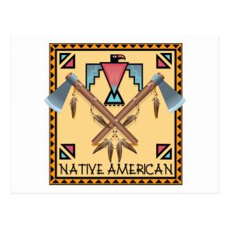 Native American Tomahawks Postcard