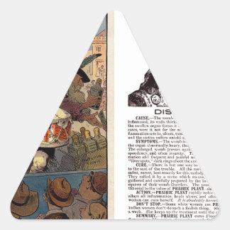 Native American Tonic Triangle Sticker