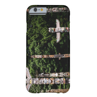 Native American totem poles, Vancouver, British Barely There iPhone 6 Case