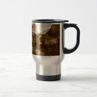 native american travel mug