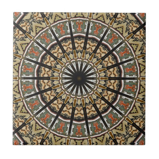 Navajo pattern ceramic tiles zazzle for Native american tile designs