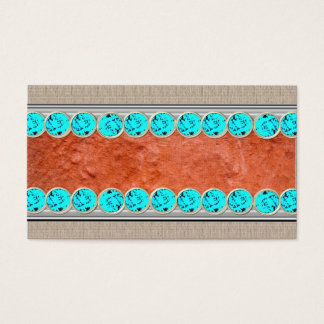 Native American Turquoise Jewelry,Business Cards