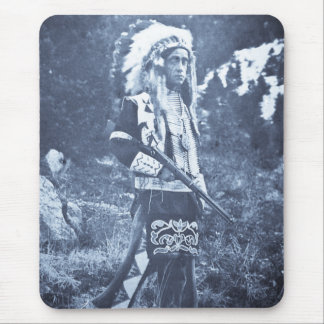 Native American Ute Sioux Vintage Mouse Pad