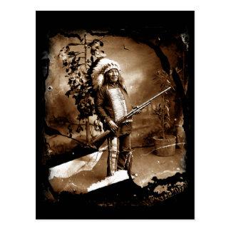 Native American Vintage Postcard