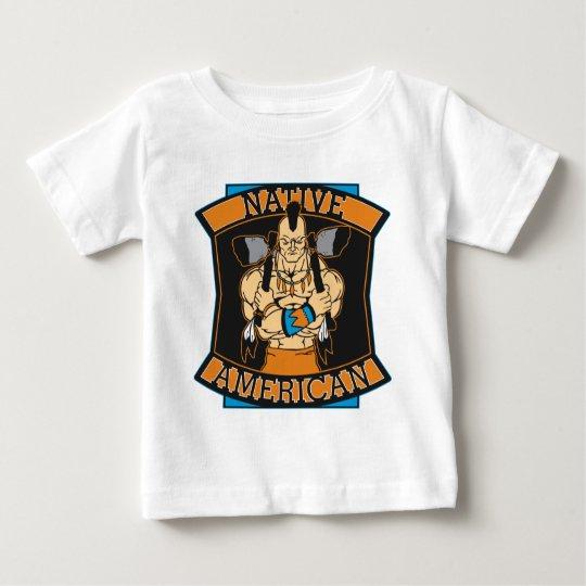 Native American Warrior Baby T-Shirt